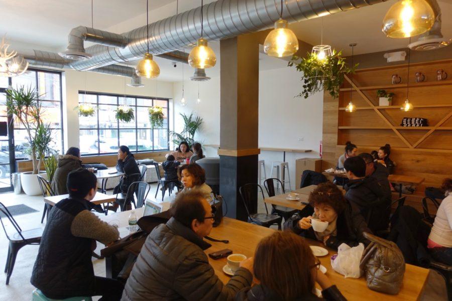 White Noise Coffee interior