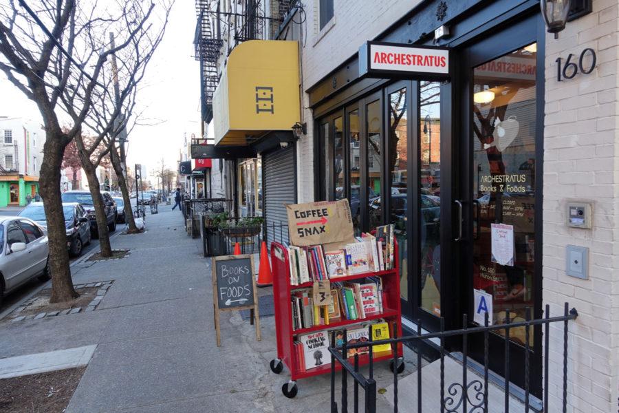 Archestratus Books & Foods Exterior