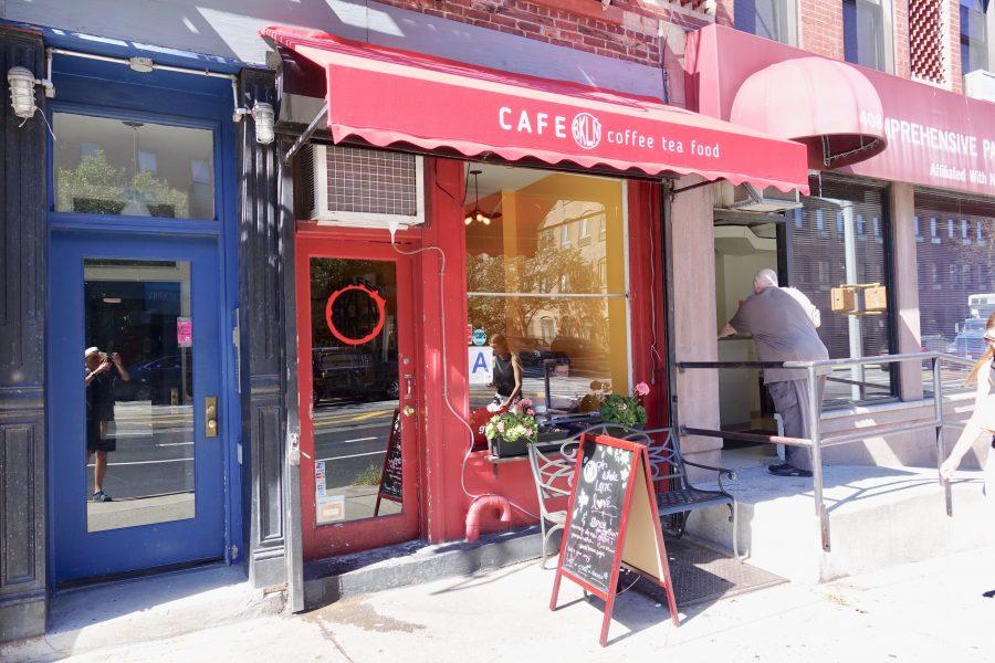 Cafe BKLN Park Slope storefront