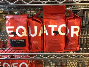 Mekelburg's Domino serves Equator Coffee