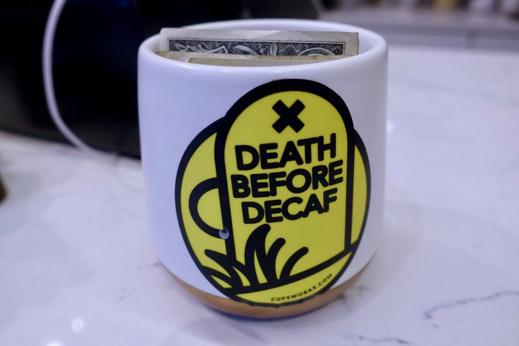 Death Before Decaf | iF Coffee Closing