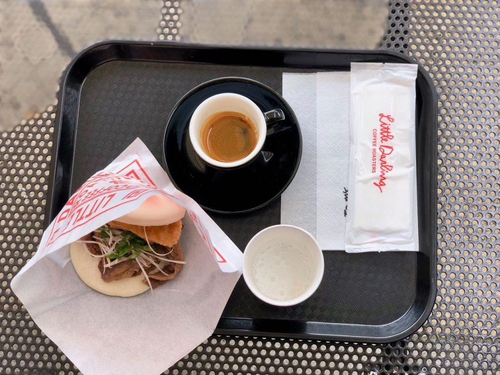 Japanese Beef Bao + Espresso - Little Darling Coffee Roasters