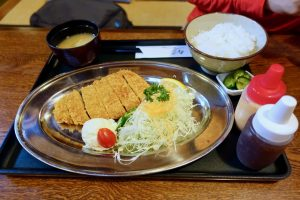 Tonkatsu Set - 竹の家 - Gunma