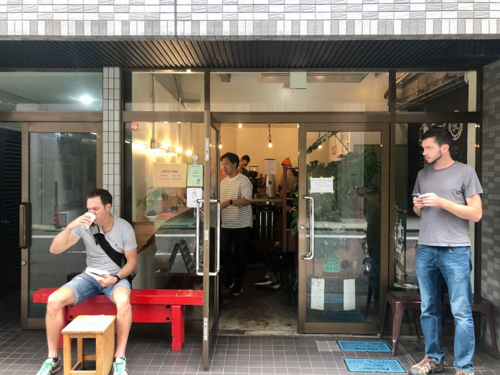 Turret Coffee Tsukiji Exterior